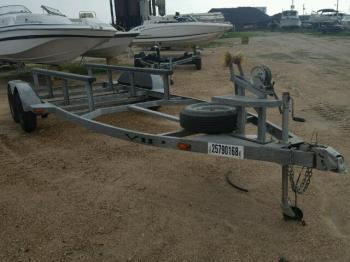 Salvage Boat Trailer
