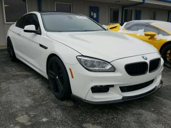 Salvage BMW 6 Series